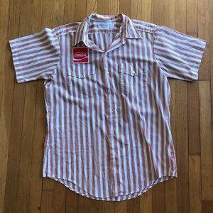 Vintage Coca Cola Work Shirt Circa 1970s